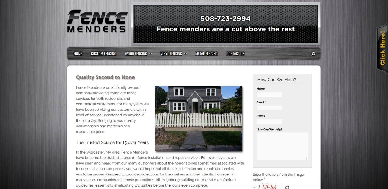 Fence-menders